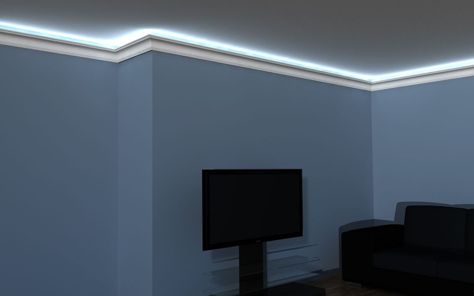 listwa led sufitowa lo 10. Black Bedroom Furniture Sets. Home Design Ideas