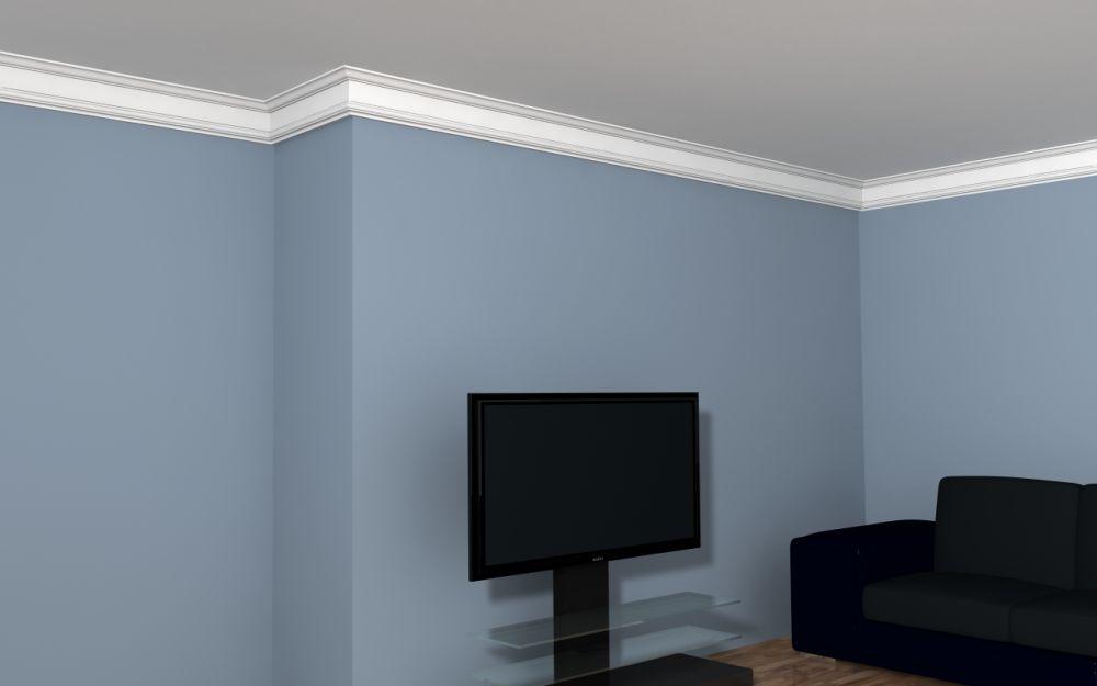 styropianowa listwa sufitowa fe8 listwy styropianowe. Black Bedroom Furniture Sets. Home Design Ideas