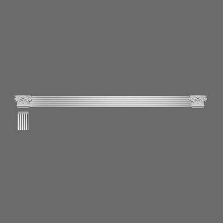Głowica narożna koryncka do pilastrów K201