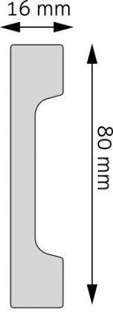 Listwa podłogowa LPC-28