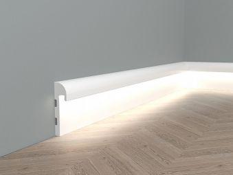 Listwa oświetleniowa przypodłogowa LED QL015 Paper
