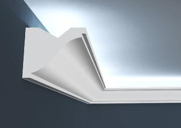 Gzymsy oświetleniowe LED