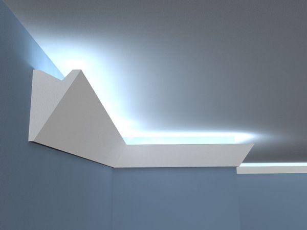 Oświetlenie LED do salonu, łazienki z listwą LO-2A