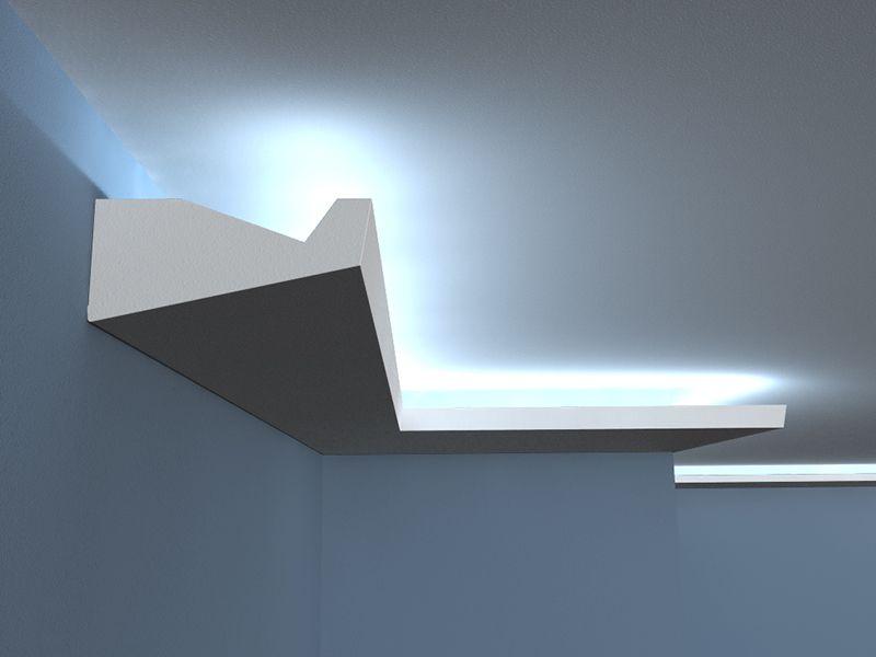listwa ledowa sufitowa lo 8 o wietlenie sufitu. Black Bedroom Furniture Sets. Home Design Ideas