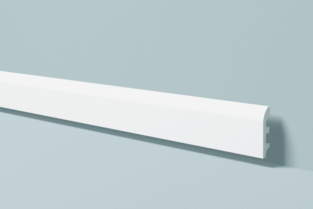 Listwa przypodłogowa biała Wallstyl FL5