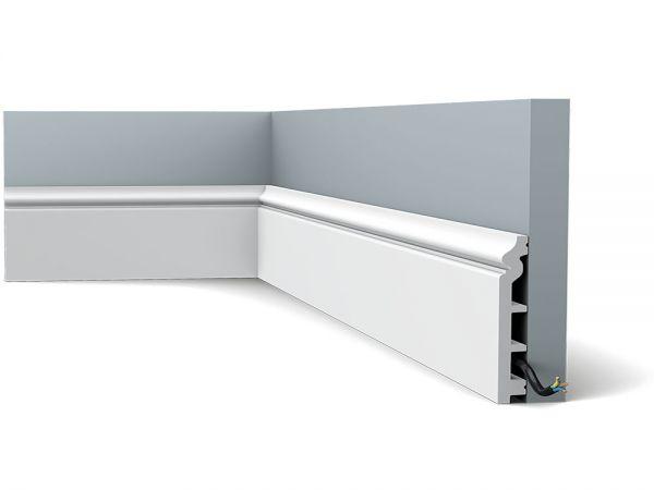 Biała listwa przypodłogowa ORAC DECOR SX118