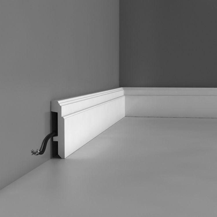 Listwa przypodłogowa SX155 - Sztukateria wewnętrzna