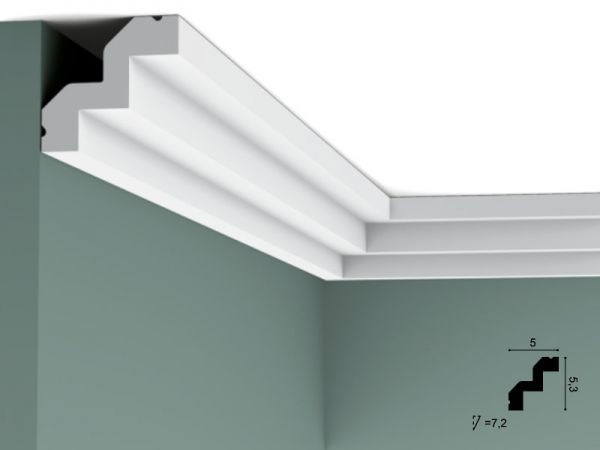 Listwa sufitowa C602 Orac Decor