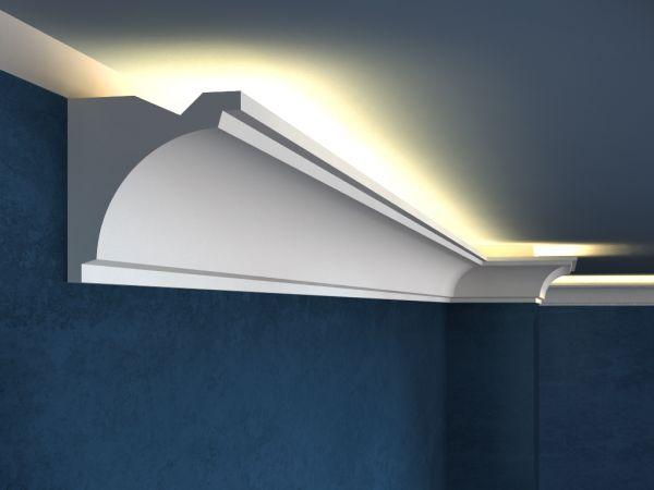 Listwa oświetleniowa LO20 LED - Gzyms LED, faseta ledowa, oświetlenie nowoczesne