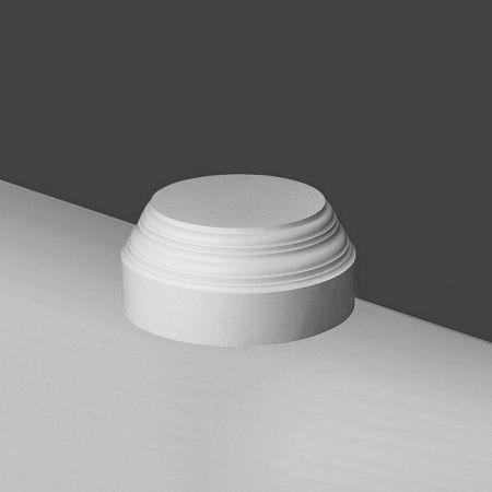 Toskański cokół kolumny K2132, bez zdobień