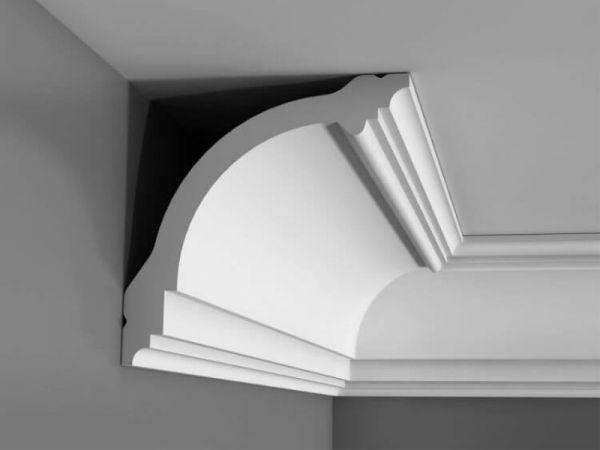 Listwa sufitowa klasyczna bez zdobień Orac Decor CB512