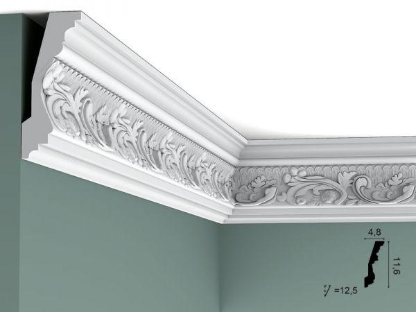 Listwa sufitowa C201/F w ornamenty