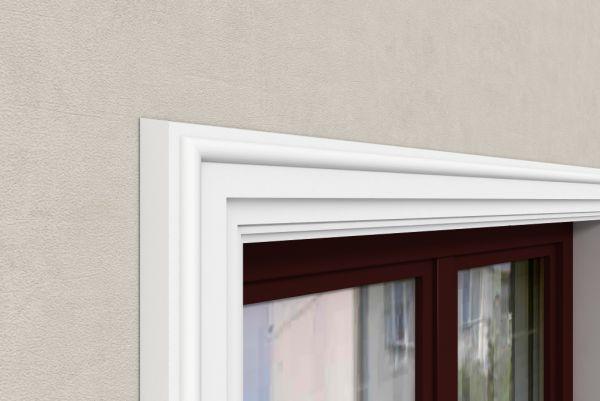 Listwa zewnętrzna okienna LE19 Decor System