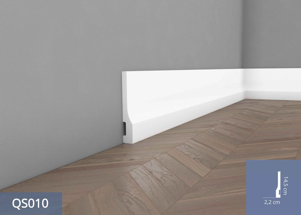listwa przypod ogowa bia a qs010. Black Bedroom Furniture Sets. Home Design Ideas