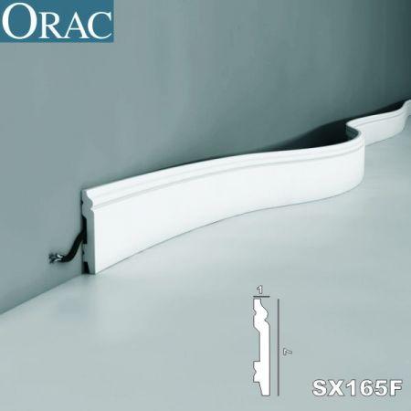 Listwa przypodłogowa ORAC SX165 FLEX giętka