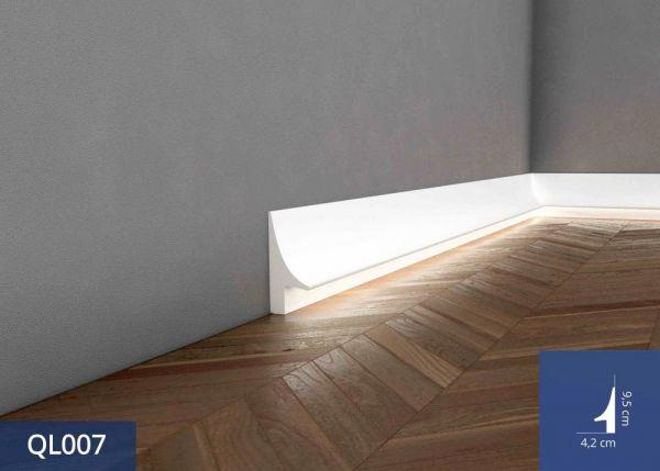 Listwa podłogowa z oświetleniem LED QL007