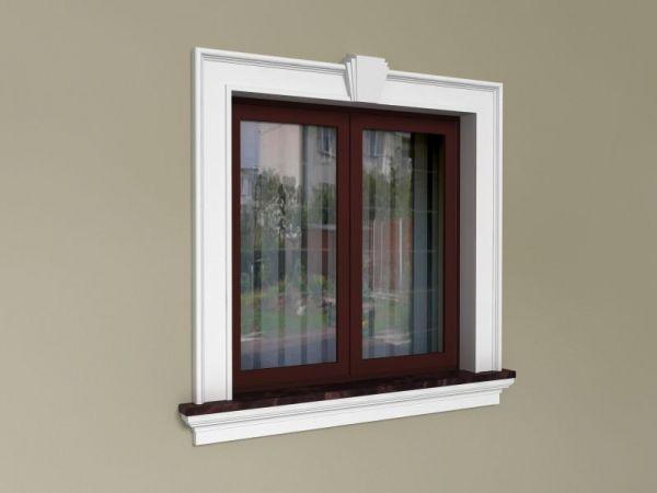 Sztukateria okienna - Zestaw klasyczny ZKL 1