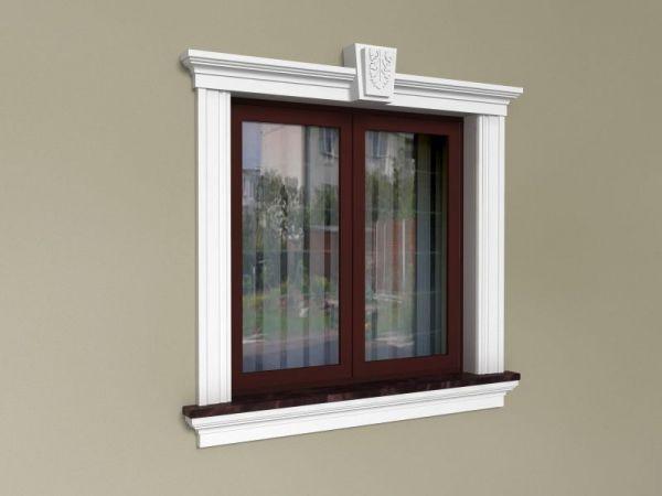 Ozdoby okien na elewacji - Zestaw klasyczny ZKL 3