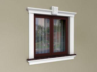 Ozdoby okien na elewacji - Zestaw klasyczny ZKL3