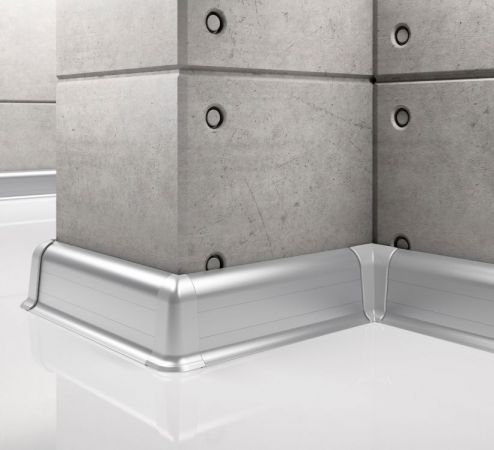Listwa przypodłogowa aluminiowa LP55
