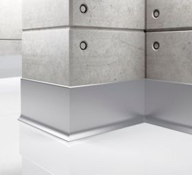 Listwa przypodłogowa aluminiowa LP80