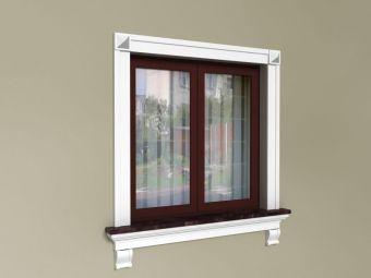 Listwy do okien - Zestaw rustykalny ZR2