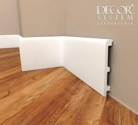 Listwa podłogowa biała DecorSystem DSP04