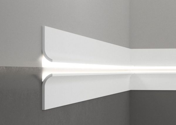 Listwa przypodłogowa z oświetleniem LED QS011