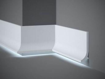 Listwa przypodłogowa z oświetleniem LED QS011 Mardom Decor
