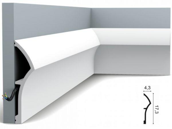 Listwa podłogowa SX167 Orac Decor