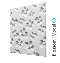 Panel 3d Na Ścianę Blossom