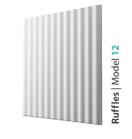 Panel 3D Ścienny Ruffles