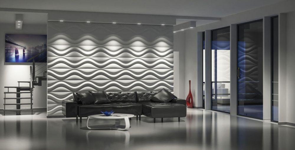 Panel ścienny Sypialnia 3d Hourglass