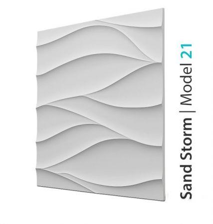 Panel Ozdobny Na Ścianę 3D Sand Storm