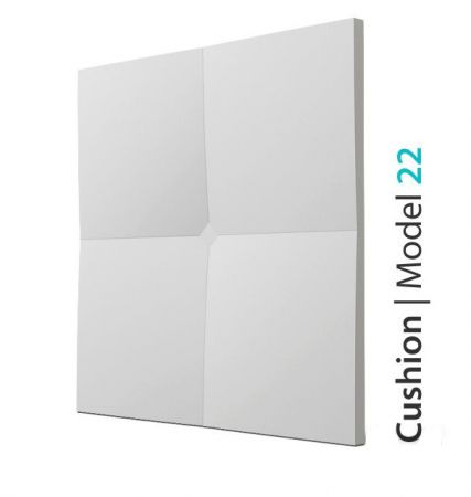 Trójwymiarowy Panel Ścienny 3D Cushion