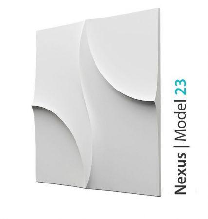 Panel Ozdobny Na Ścianę 3D Nexus