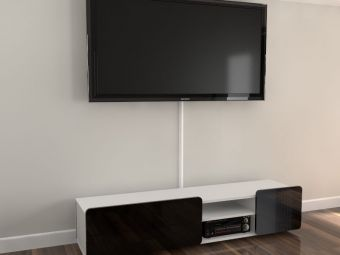 Listwa maskująca kable na ścianie LTV01