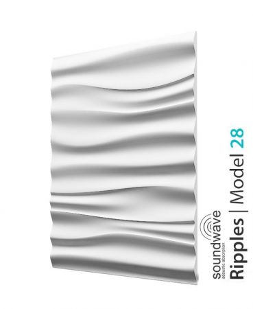 Panel Ścienny 3D Ripples