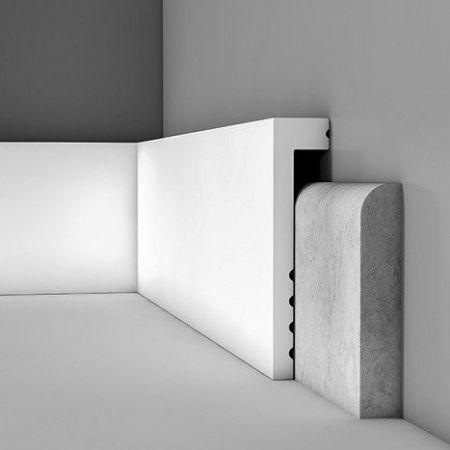 Listwa przypodłogowa biała SX171