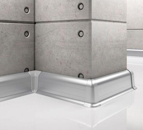 Listwa aluminiowa do wykończenia płytek LP55