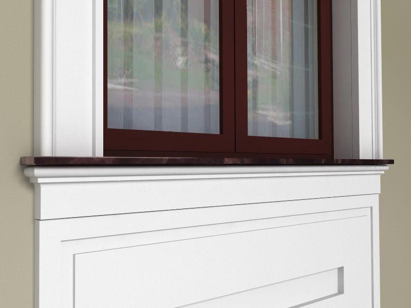 modne okno na elewacji