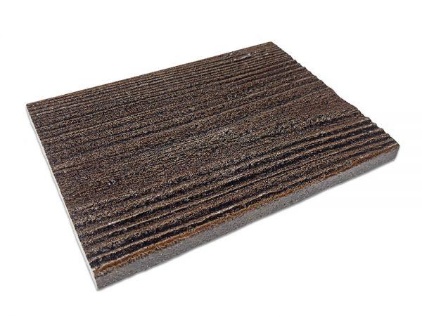 Panel Drewnopodobny Elewacyjny Palisander Ciemny detal