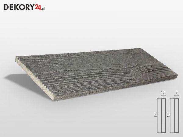 Deska Imitacja Drewna Szary