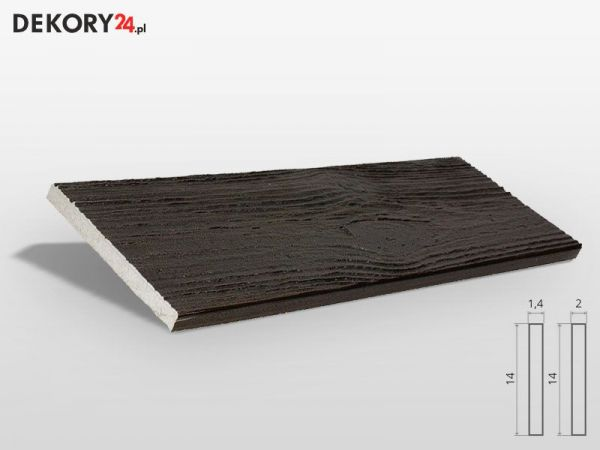 Deska Elewacyjna Imitacja Drewna Palisander Ciemny