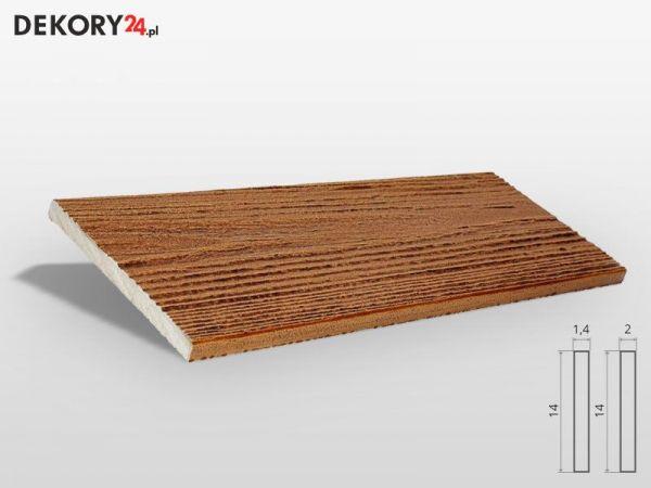 Deska elewacyjna drewnopodobna Tik