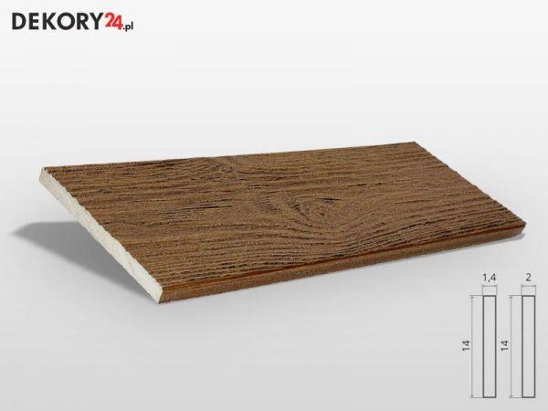 Deska Elewacyjna Imitacja Drewna Ciemny Orzech