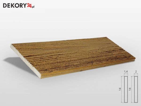 Deska Elewacyjna Imitacja Drewna Dąb