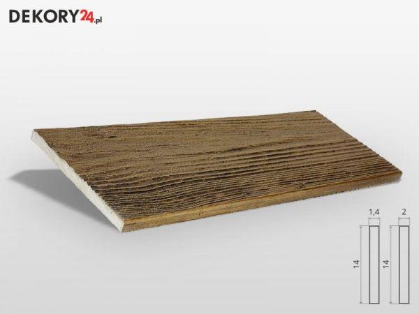 Deska elewacyjna Drewnopodobna Ciemny Dąb
