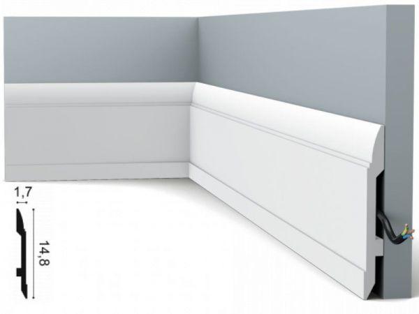 Listwa przypodłogowa SX104 Orac Decor biała
