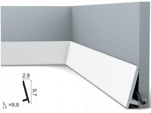 Listwa przypodłogowa SX179 Orac Decor